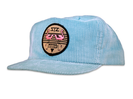 Pitted Cord snapback