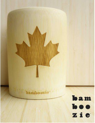 Bamboo Beer Koozies (fits 12oz cans)