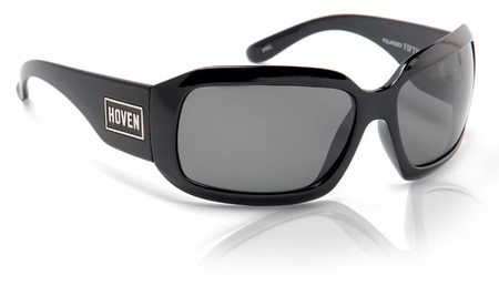 Sunglasses - Hoven Vision Fifth Ave (Black Gloss/Grey Polarized)